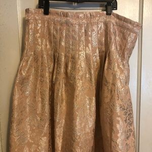 BCBG floral patterned skirt